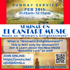 What is a Women's Enlightenment? - Los Angeles Temple Sunday Service